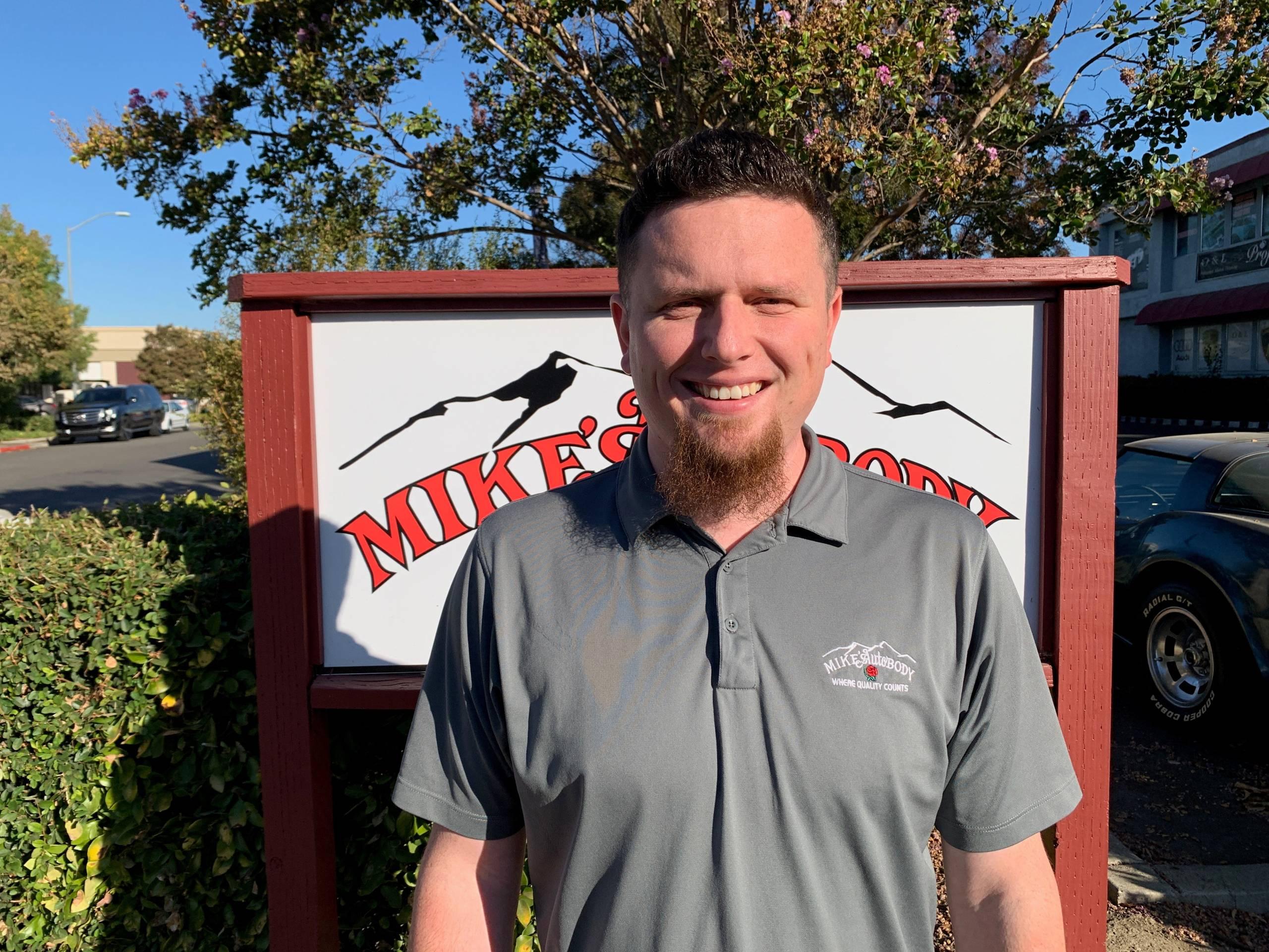 San Ramon Auto Body Manager Josh Pachan