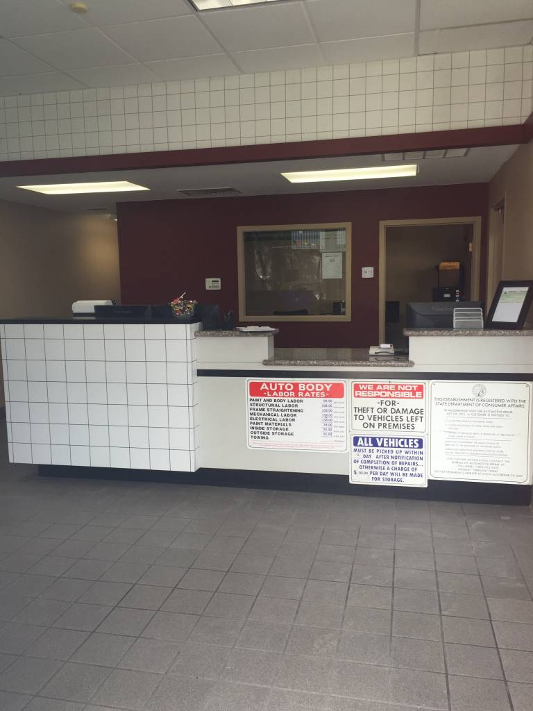 Vallejo Auto Body Shop - Lobby