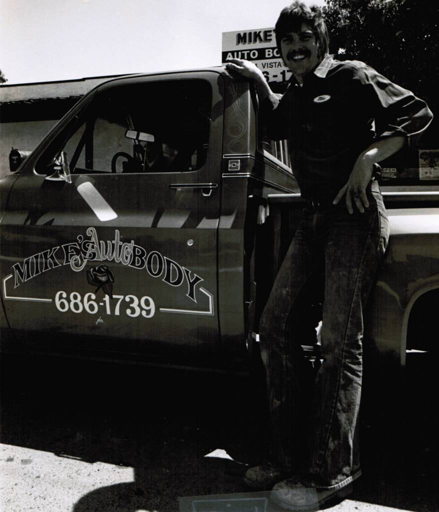 History - Mike's Auto Body